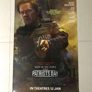 Patriot day movie poster