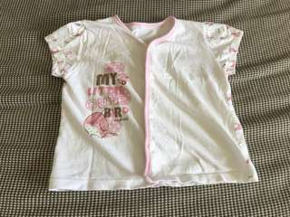 Shirts / top - pink (size 3 to 6 months)