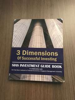 SIAS Investment Guide Book