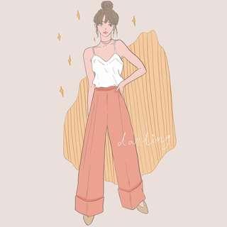 Darling Illustration