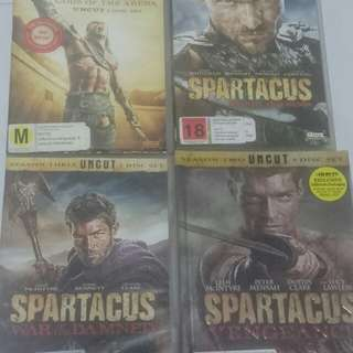Spartacus ALL seasons FULL set