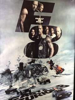 Fast & Furious 8 Movie Poster