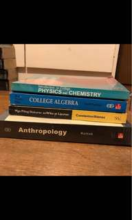 📚 Algebra, anthropology and language books