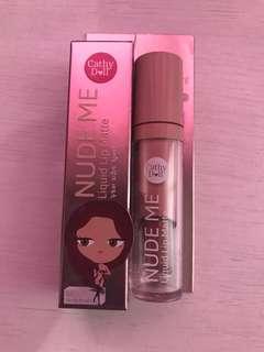 Cathy Doll Nude Me Liquid Lip Matte Lipstick