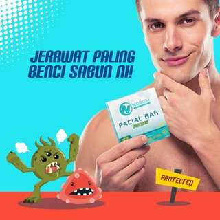 Nurish Men Facial Cleanser Pencuci muka khas untuk lelaki