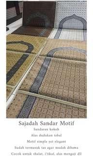 Sajadah Sandar Nabawi Motif