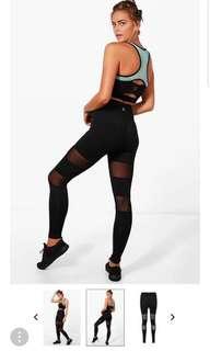 Fit mesh breathable leggings