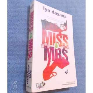 Novel Melayu : Miss & Mrs