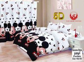 Mickey Mouse Bedsheet 4in1