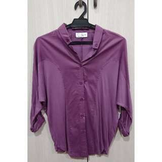 Purple Work Blouse Top #JulyPayDay