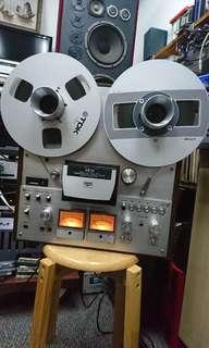 AKAI GX-630D open reel to reel tape recorder.