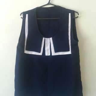 Korean sleeveless