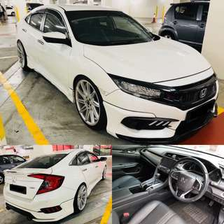 SAMBUNG BAYAR / CONTINUE LOAN  HONDA CIVIC TCP TURBO 230BHP HIGH SPEC TCP