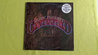 CCR lead vocalist ~ JOHN FOGERTY . centerfield. Vinyl record