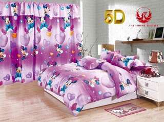 Minnie Mouse Bedsheet 4in1