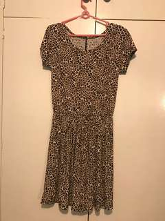 🐯 Cheetah Dress