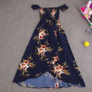 Floral Dress Green Color Only