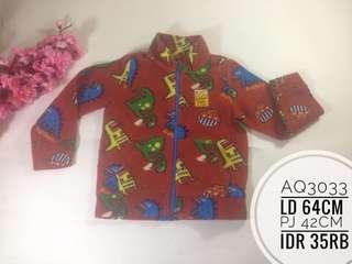 Jaket anak kualitas import branded murah AQ3033