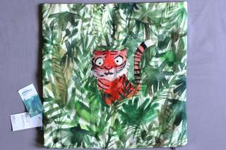 "Cushion cover ""Sumatran tiger"""