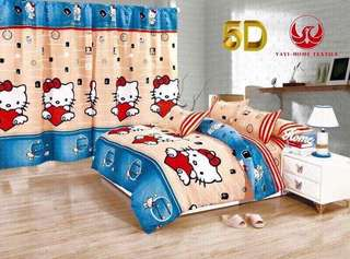 Hello Kitty Bedsheet 4in1