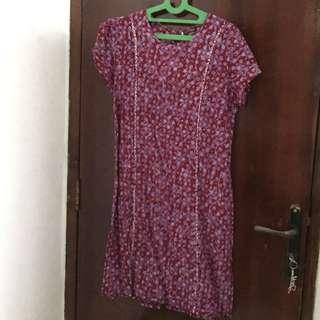 Dress batik Gaya L