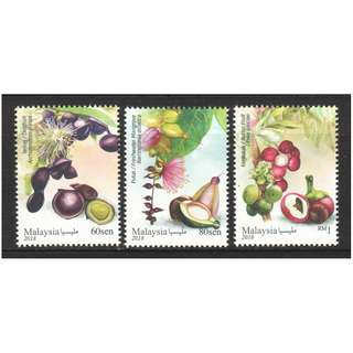 MALAYSIA 2018 MEDICINAL PLANTS SERIES 4 COMP. SET OF 3 STAMPS IN MINT MNH UNUSED CONDITION