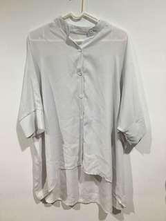 🚚 白色長襯衫