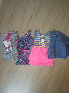 1 lot of girls clothes size 12-18