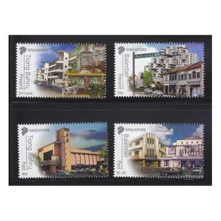 SINGAPORE 2012 AREAS OF HISTORICAL SIGNFICANCE (BALESTIER & TIONG BAHRU) COMP. SET OF 4 STAMPS IN MINT MNH UNUSED CONDITION