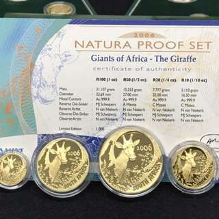 Natura Proof Set - Giant Of Africa