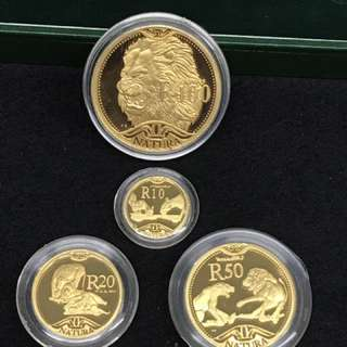 The Lion - Natura Gold Proof Set