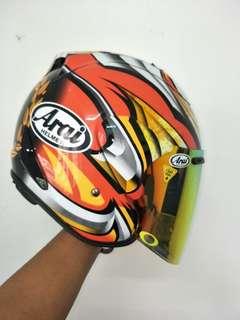 Helmet TSR convert Arai Nakagami