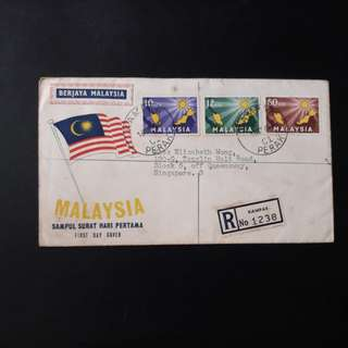 Malaysia 1963 First Day Cover