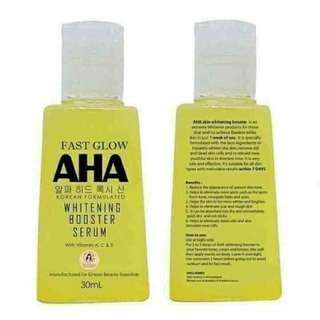 AHA Serum Rebranding