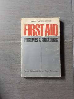 First Aid Principles and Procedures