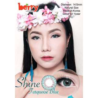Berry Contact lens
