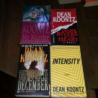 Dean Koontz Books Bundle (4 pcs)