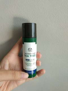 The body shop - Tea Tree night lotion