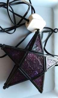 古董玻璃星星吊燈