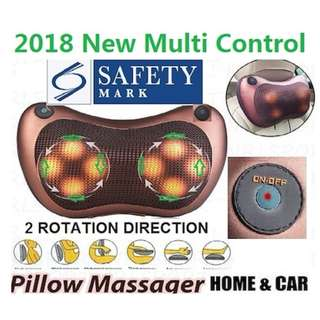 2018 New  8 Ball Multi Control Massager Pillow