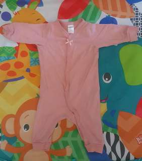H&M Cute Pink Overall for Baby Girl