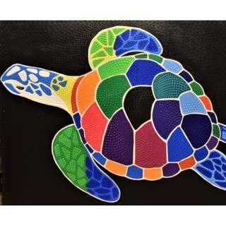 Turtle Painting (90cm × 70cm)