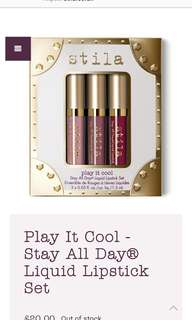 Stila stay all day ® liquid lipstick