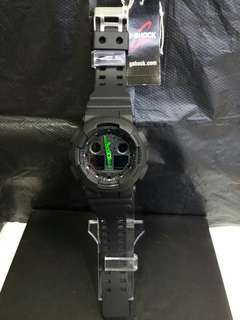 """GA-100C-1A3卡西歐品牌手錶""""Casio""""""""G-Shock""""日本機芯一年保養"""