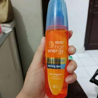 Makarozo Hair Energy Scentsations Morning Dew Baru 1x Semprot