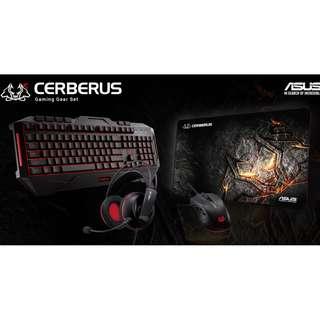 ASUS Cerberus Gaming Set - Keyboard, Mouse, Mousepad