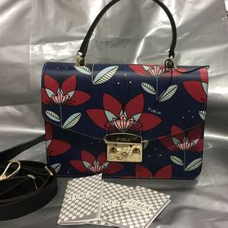 Brand New Furla Metropolis Top Handle S Multicolor