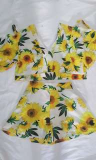 Sunflower terno