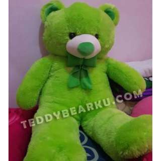 BONEKA TEDDY BEAR SUPER SUPER JUMBO 1,5 METER WARNA HIJAU