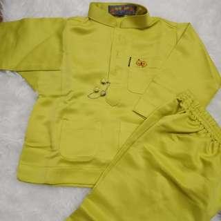 Jakel Upin Ipin Boys Baju Melayu